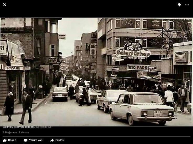 Bakırköy istasyon caddesi.