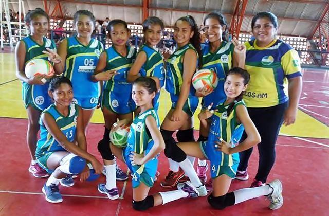 O Voleibol de Barcelos é destaque no 40º Jogos Escolares do Amazonas -JEA's | Barcelos na NET - Barcelos Amazonas
