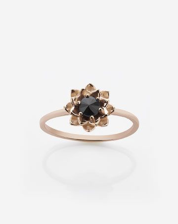 Meadowlark Protea Stacker Ring with Stone