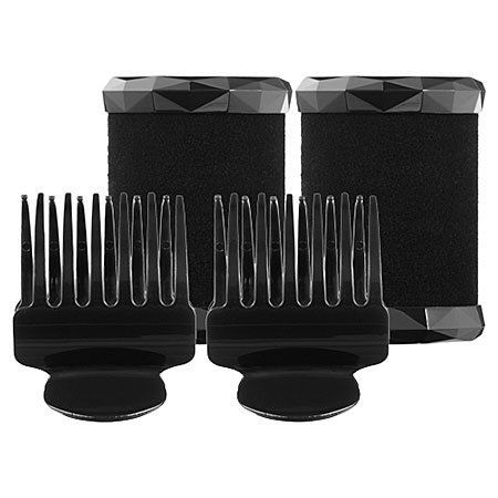 "T3 Voluminous Hot Rollers 1.75 Inch 2 x 1.75"" by T3. $20.00. Set Includes: 2 x 1.75"" Voluminous Hot Rollers and 2 x spring-loaded butterfly clips. An add-on set of two, 1.75-inch hot rollers and clips to supplement the T3 Voluminous Hot Rollers Set.. What it is: A set of two 1.75-inch hot rollers and clips to supplement the T3 Voluminous Hot Rollers Set.What it does: Each roller contains a high-performance ceramic PTC heater (commonly used in digital flat irons) wi..."