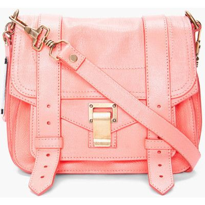 Proenza Schouler, Fashion, Style, Messenger Bags, Crosses Body Bags, Pale Pink, Pink Bags, Accessories, Purses