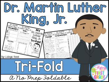 Martin Luther King JrPlease enjoy this FREEBIE in celebration of my store reaching 10,000 followers.  This is the first tri-fold in this new product line for different themes and topics.  I hope you like it!CLICK BELOW TO CHECK OUT THE NEW YEARS TRI-FOLDNEW YEARS TRI-FOLDTri-Folds Can Be Used ForLiteracy CentersSocial Studies Mini LessonSmall GroupsHomeworkPartner WorkResearch Individual WorkGroup WorkTri-Fold Skills IncludedVocabularyWritingReadingComprehensionFluencyArtCLICK BELOW TO SEE…