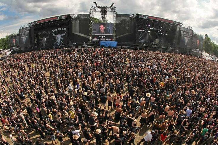 Wacken- the biggest open air music festival ever!!! (the dream destination)