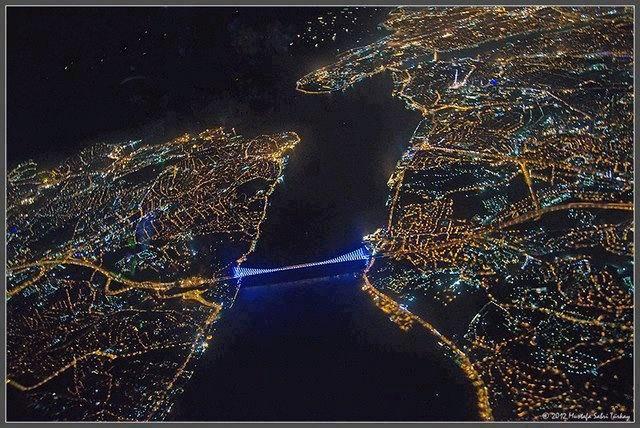 Where Europe meets Asia İstanbul Boğazı