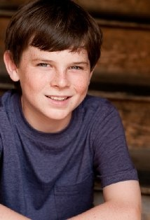 Future amazing actor... Plays Chandler Riggs in the Walking Dead