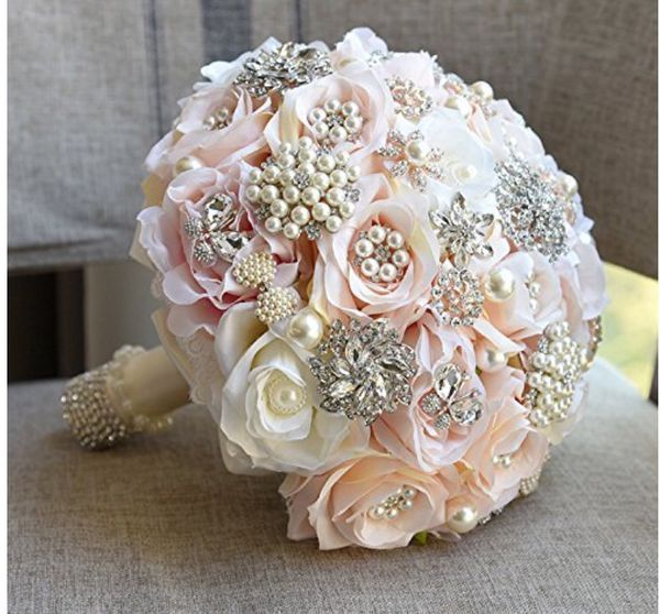 25cm 9 8inches Beautiful Wedding Bouquet It Is Made With