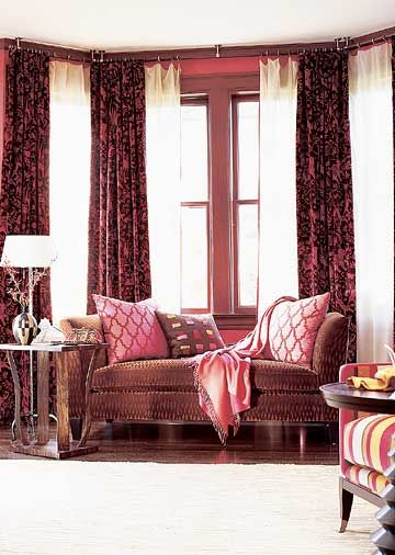 17 best ideas about bow windows on pinterest bow window for Blinds for bow windows ideas