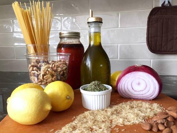 The Greek pantry