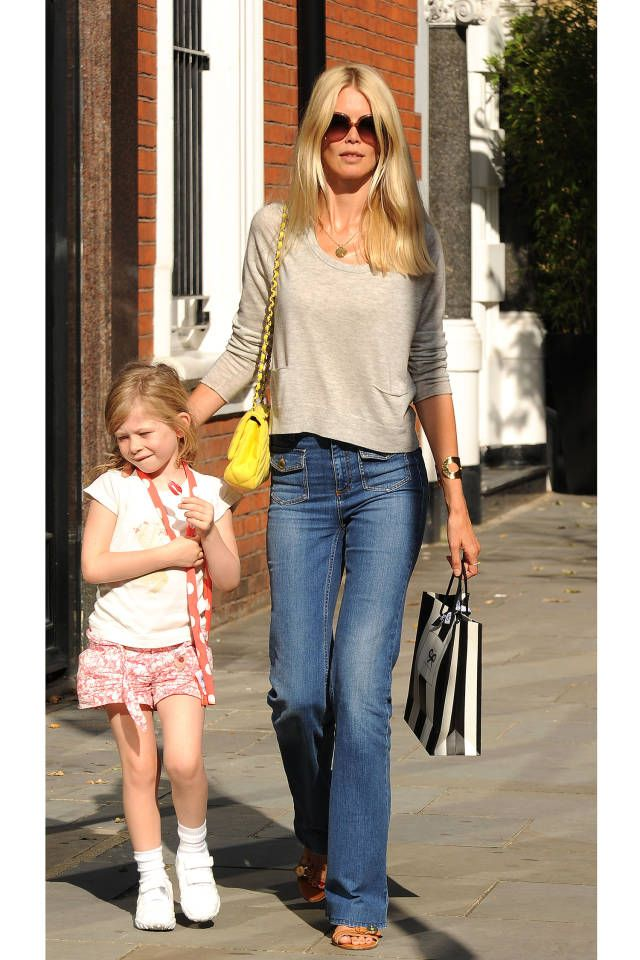 We rounded up the most stylish celebrity and model moms. See them all here.