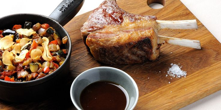 This grilled rack of lamb recipe is served with ratatouille. Pascal Aussignac's rack of lamb is delightfully delicious