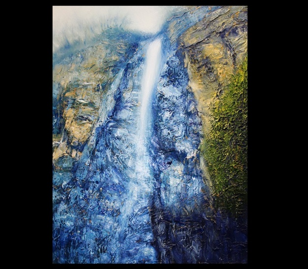 'Autumn Fall'   2012 oil on canvas 40x50cm