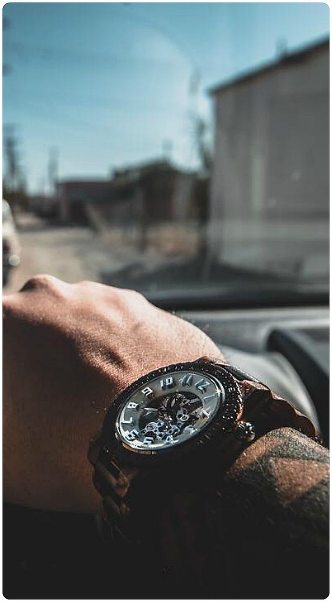 Drive time style.   Pic courtesy of @kaotical24 of IG   Find his watch, the Dover Zebrawood & Cream, at woodwatches.com - free shipping worldwide!