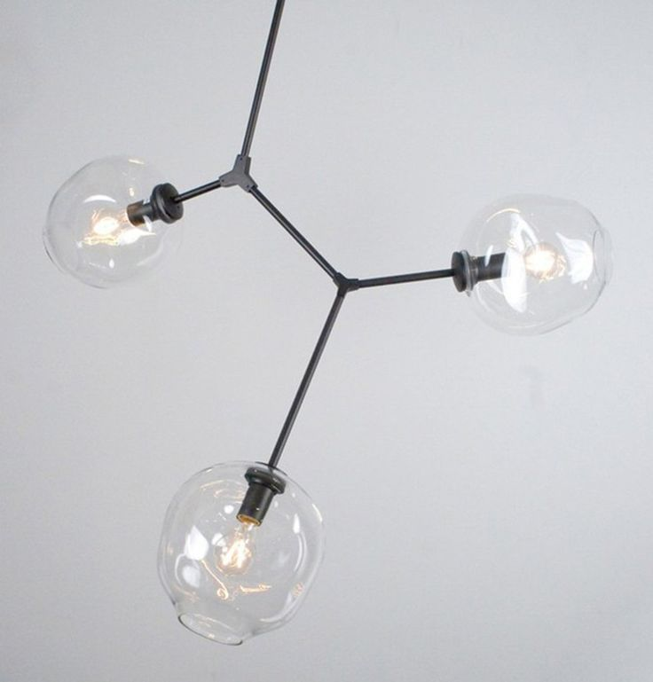 3 Arm Branching Bubble Chandelier by Lindsey Adelman