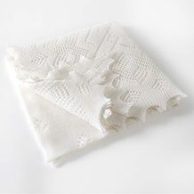 THE baby blanket that Kate and William's prince wore home from the hospital -and you don't have to knit it.