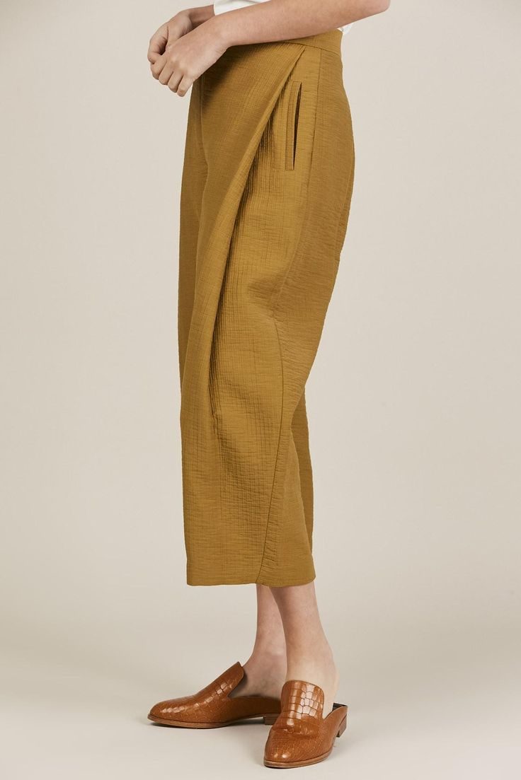 DON PANT, GOLD BY RACHEL COMEY