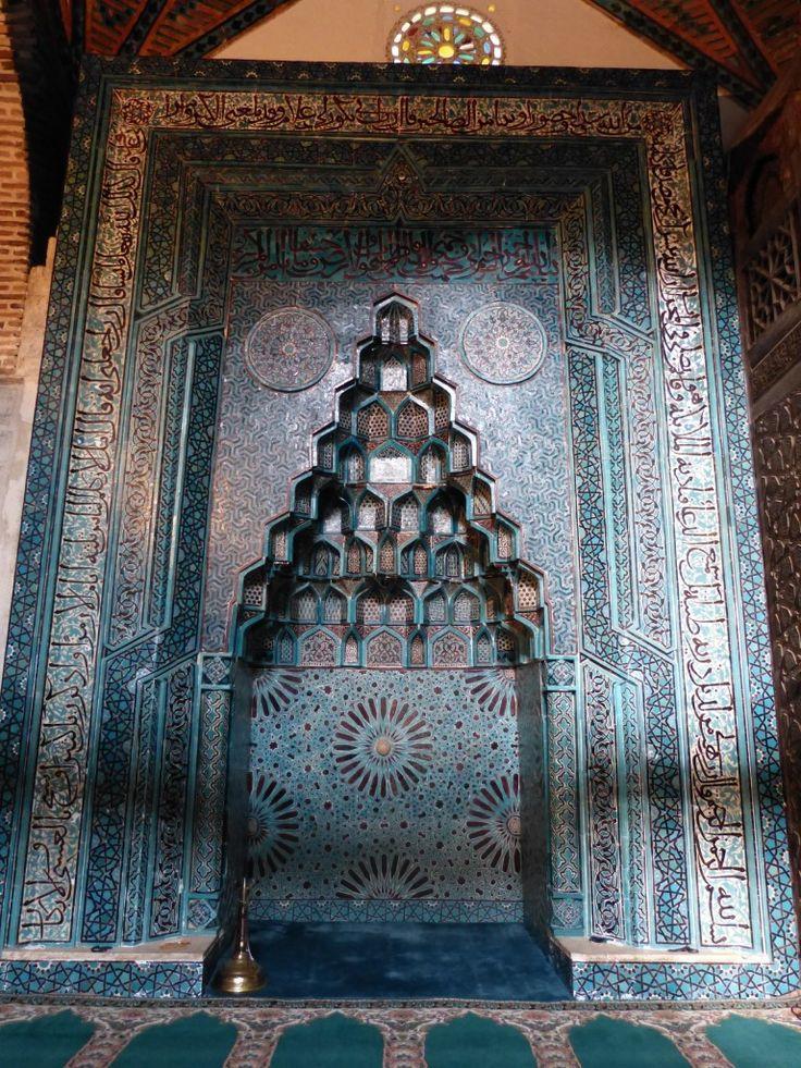 Eşrefoğlu Mosque, Beyşehir - Mihrab