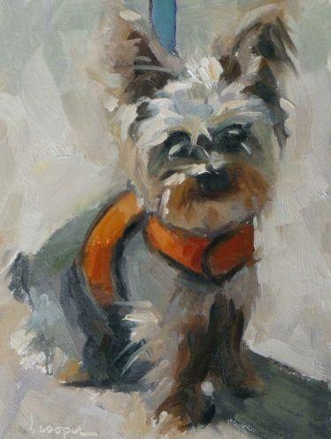 ...Beckham, painting by artist Dana Cooper