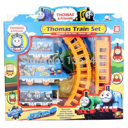 On Sale Electric small the Thomas and his friends children train toy pathway rail car for kids tru boy models coches de juguete