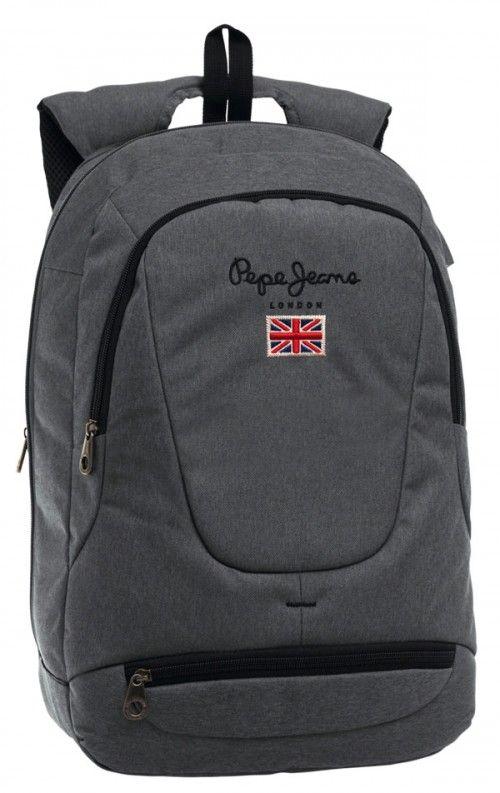 Mochila portaordenador Pepe Jeans Soho gris