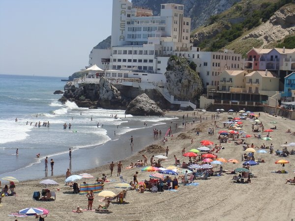 Catalan bay, Gibraltar | Places I've been | Greece travel ...