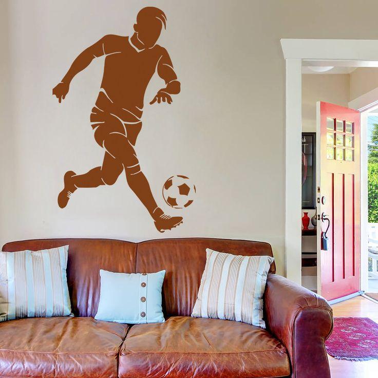 ik982 Wall Decal Sticker European football sports team game children's bedroom
