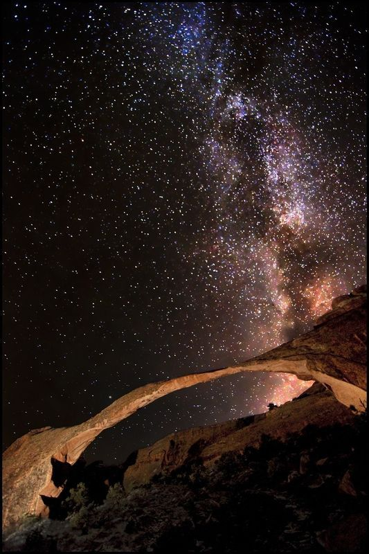 the milky way from utah by bret webster Dallas and I are definitely going to have to go here.