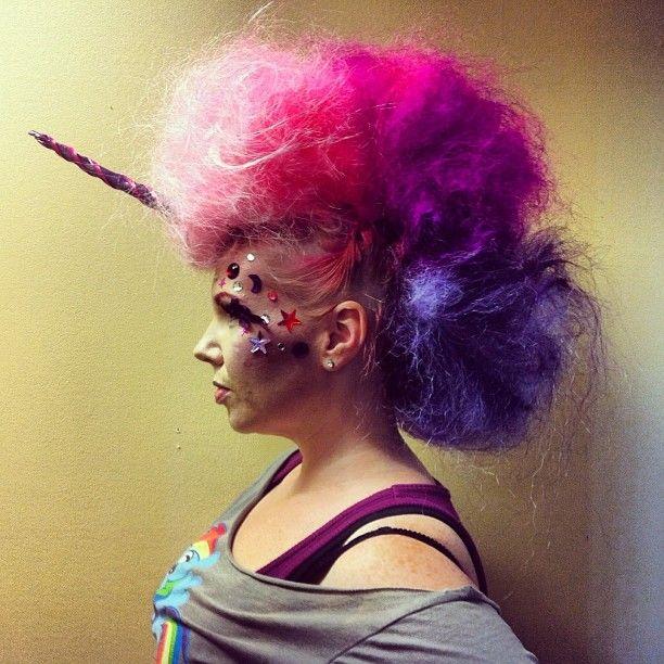 Hair Rainbow Unicorn Ginger Mae Chevalier Pinterest