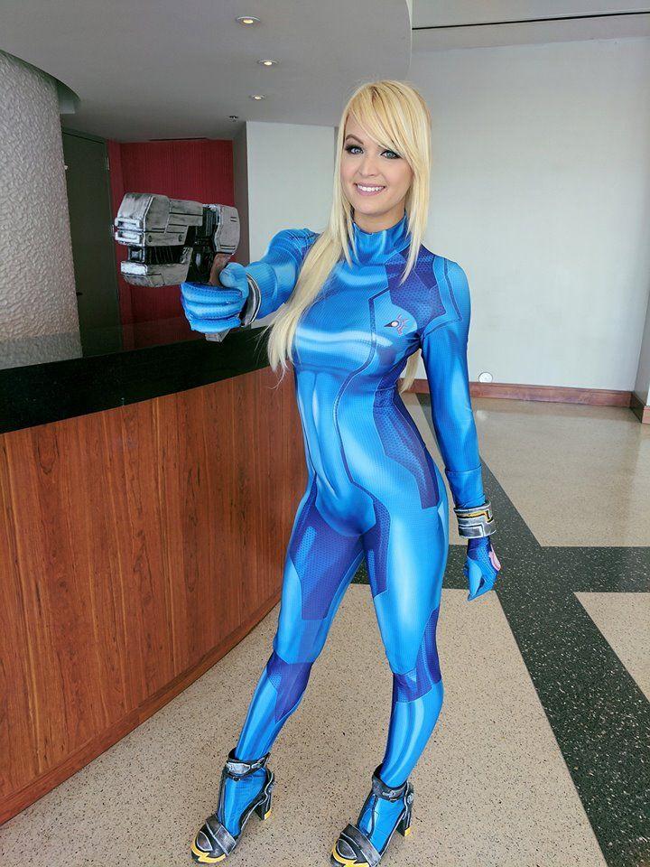 Danielle Denicola Samus Aran Zero Suit Version Cosplay