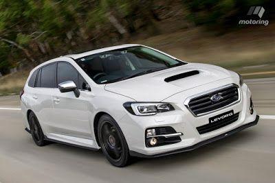 UNIVERSO PARALLELO: Subaru Levorg motore 1.6 DIT Linear Sport Unlimite...