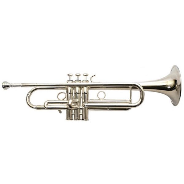 Image of Schilke Model B5 Bb Trumpet, Silver Plated with Tuning Bell