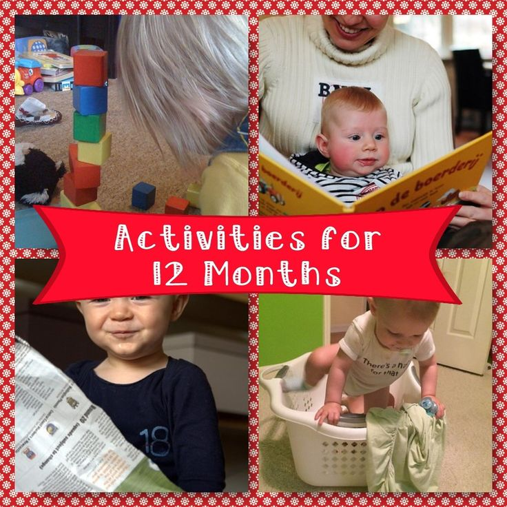 activities for 12 months