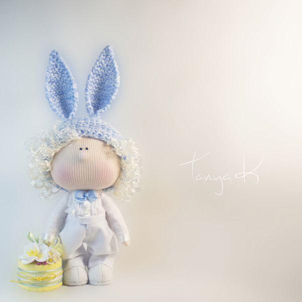 Ручная работа Кукла текстильная ручной работы