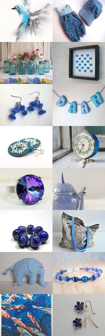 Blue dreams... by Nilgun on Etsy--Pinned with TreasuryPin.com