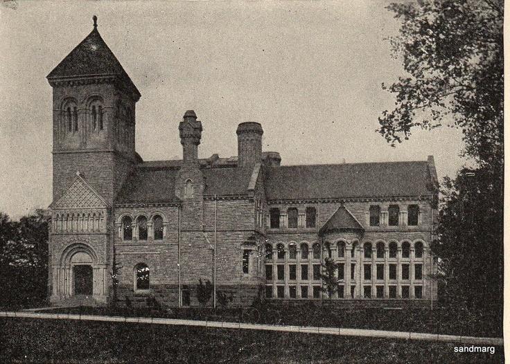 1898 University of Toronto Library