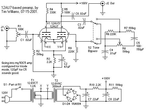 F Faac B C Df E Bb F Tesla Video Audio Design on Kt88 Tube Amp Schematic