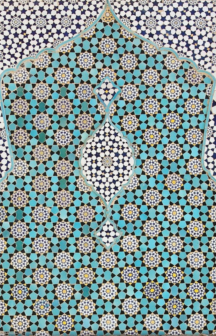 Islamic pattern mosaics ornamentation ancient for Mosaic kitchen designs