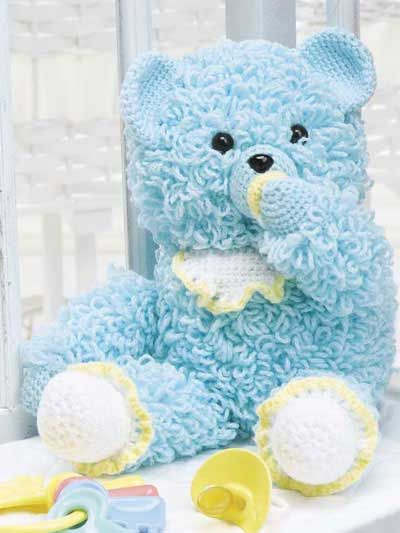 Teddy Bear Crochet Pattern The Best Collection Ever | The WHOot This is a teddy bear your child will love snuggling up to. make it in colors you like.