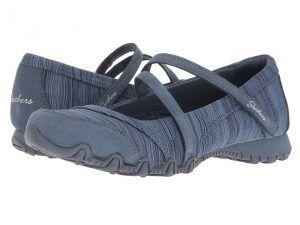 SKECHERS Bikers Ripples (Blue) Women's Shoes
