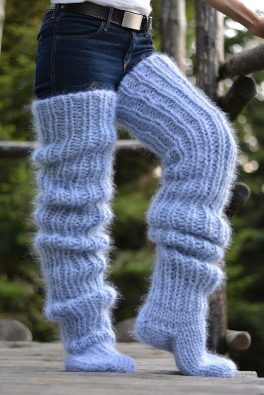 I would wear them with cute short shorts for lounging!