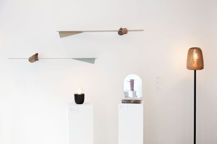 """Stores:   Galerie Room: a new contemporary design gallery in Paris  lamp """"Lampione I"""" designed by Violaine d'Harcourt"""