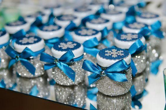 Doce Eve Ateliê | decoração - docinhos - mimos: Frozen para Letícia