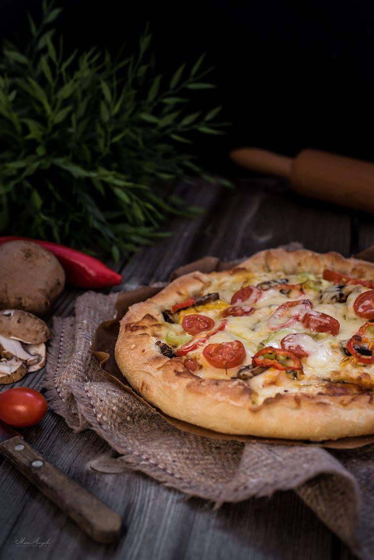 Pizza ala Mamangelic! | φαγητά | με γλουτένη | συνταγές | δημιουργίες| διατροφή| Blog | mamangelic