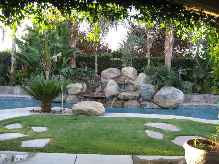42 best pool landscapes images on Pinterest | Backyard ideas ...
