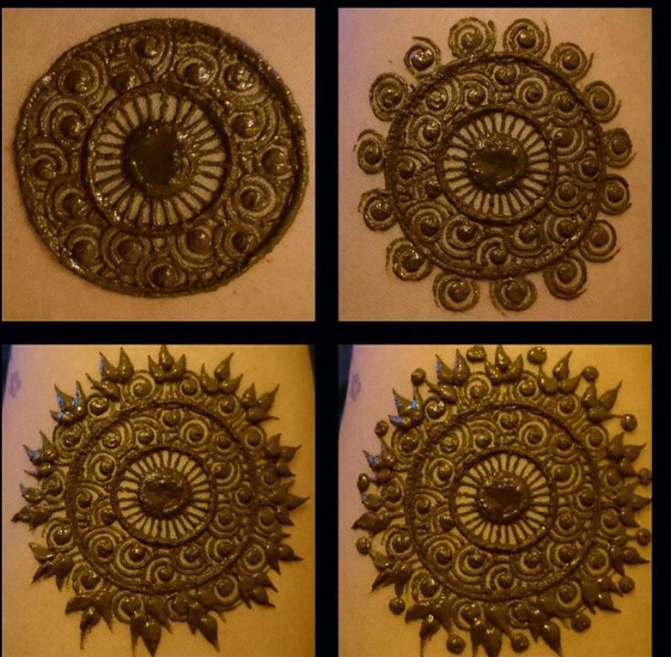 Beautiful mandala by Kaz Couture and Henna (via Instagram).