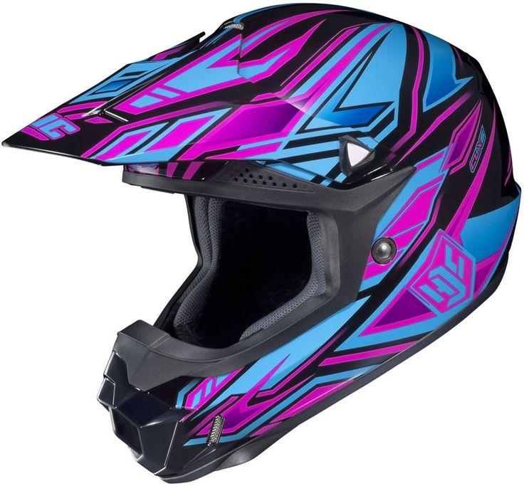 HJC CL-X6 Fulcrum Womens Motocross MX ATV Dirt Bike Helmets