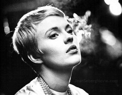 Jean Seberg. If I were as cute and waif-esque as she is, I would get this haircut and keep it for forever