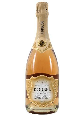 Korbel Brut Rose, 750ml – Korbel Champagne Cellars Online Store