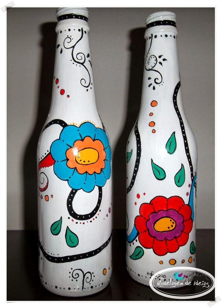 Modelagem de Ideias: Modelando garrafas!!!