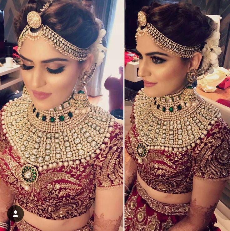 Rajasthani bridal look