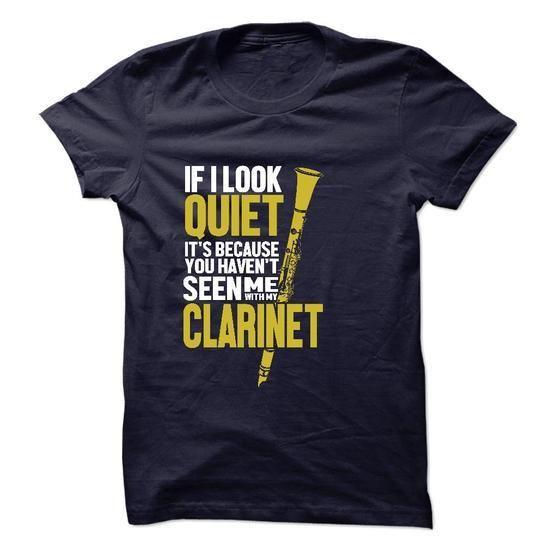 I with My Clarinet T Shirts, Hoodies Sweatshirts